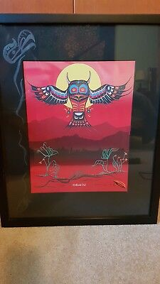 Fred Anderson Limited Edition Print: Heiltsuk Owl