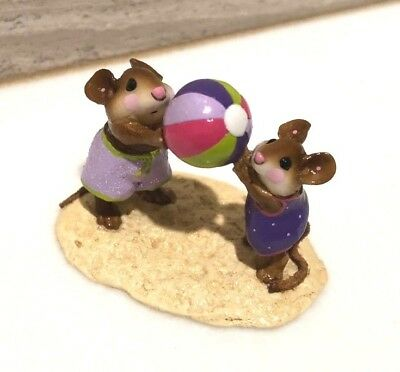 Wee Forest Folk HAVING A BALL Exclusive Limited Edition Store Special Mice w/Box