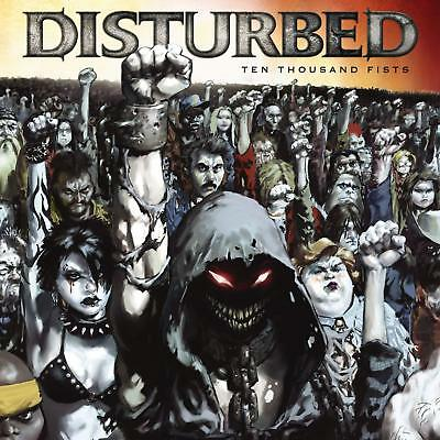 Disturbed 'Ten Thousand Fists' CD/DVD - NEW