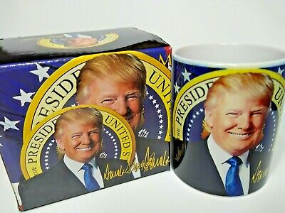MAGA President Donald Trump Coffee Cup Mug White House Presidential Seal 12oz