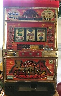 Quarter / Token Azteca Gold Version Pachislo Slot Machine / 297 Page Manual
