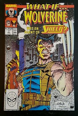 WHAT IF #7 (1989 MARVEL) *2nd SERIES* NM/NM+