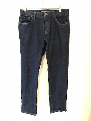 0ea32372bee7 TOMMY HILFIGER MEN S Denton Straight Fit Jeans, Low rise, Stretch ...