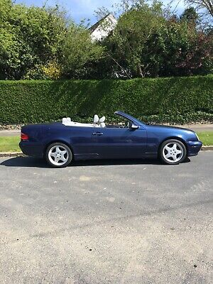 Mercedes CLK AMG Convertible Wedding Limousine Car Hire, Leeds. All Yorkshire.