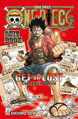 Manga - Star Comics - One Piece Quiz Book - Nuovo !!!