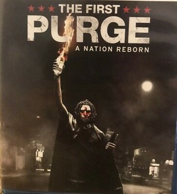 THE FIRST PURGE (2018) Blu-ray Disc ONLY - Please Read