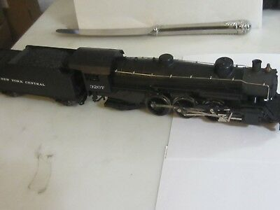 h o trains: Good strong running MEHANO 4-6-2 steam locomotive--NEW YORK CENTRAL