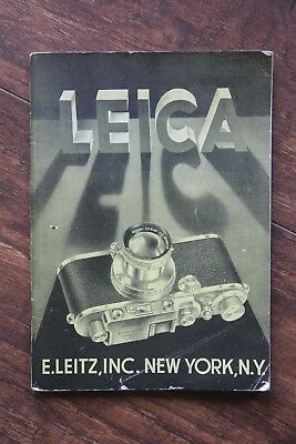 Vintage Leica Booklet Manual Information Guide Free Shipping