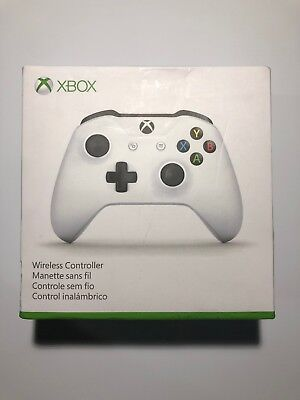 Microsoft Xbox One Wireless Controller (TF5-00002) Gamepad - White