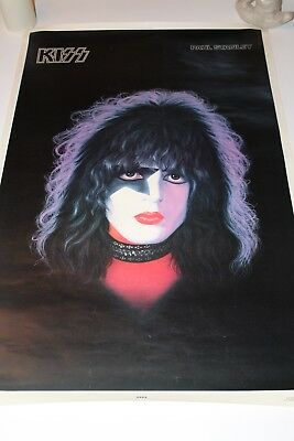 Kiss Paul Stanley Solo Poster - 1978 Aucoin Boutwell