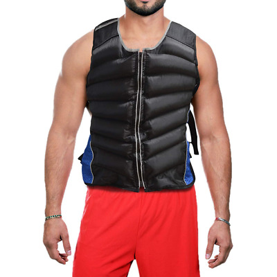 Sporteq Weighted Vest Cardiovascular Training Running Gym Strength Jacket 12kg &