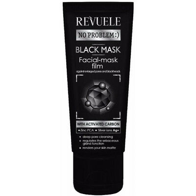 [REVUELE] Black mask peel off Activated Carbon (80ml)