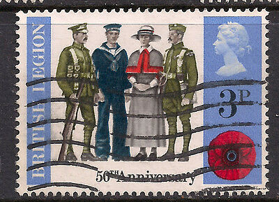 GB 1971 QE2 3p British Anniv Comms SG 887.(M275 )