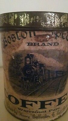 Extremely rare antique vintage coffee tin.