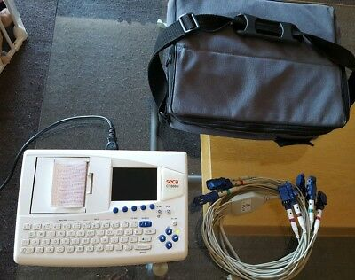 SECA CT8000i LCD PORTABLE Interpretive ECG MACHINE MONITOR PRINTER RRP: £2200