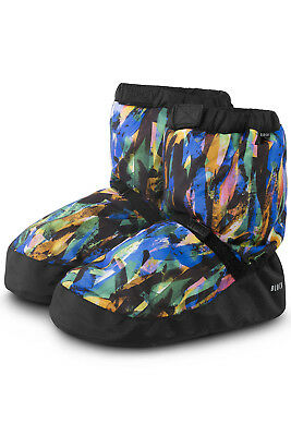 Unisex Bloch Adult Dance Printed Warm Up Booties