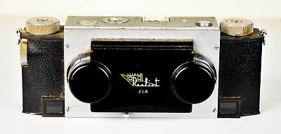Vintage Stereo Realist Camera, David White Co., 35Mm, F2.8 German Lens
