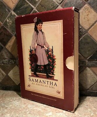 An American Girl Books Samantha Complete Boxed Set 6 Vintage 1986 1st Edition