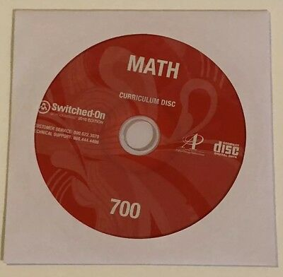 SWITCHED ON SCHOOLHOUSE, 7th Grade, Grade 7 Math Curriculum by AOP