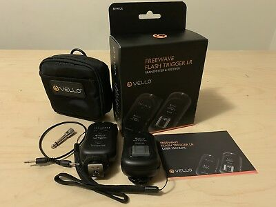 Vello FreeWave LR Wireless Flash Trigger & Receiver Kit