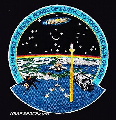 Final Flight - Departed Space Heroes - Tim Gagnon - Commemorative Space Patch