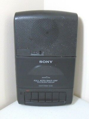 Sony TCM-929 Cassette Recorder Portable Desk Music Tape Player