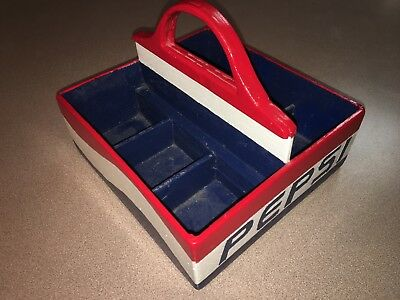 Rare Pepsi Cola Wooden 6 Pack Carrier