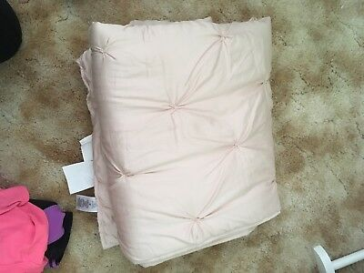 Pottery Barn Kids Baby Bedding Meredith Pink Quilt