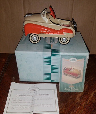Hallmark Kiddie Car Classic 1955 Murray Royal Deluxe L E Signed by Ed Weirick