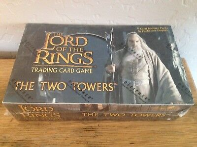 Factory Sealed Booster Box Decipher Lord of the Rings The Two Towers