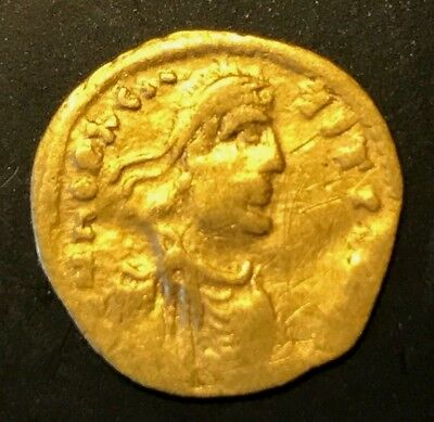 Ancient Byzantine Gold Coin Tremissis!!! Heraclius. 610 -641 Ad!!! Nice !!!