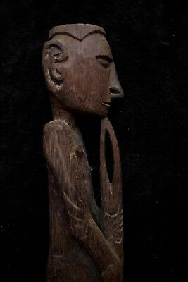 Fine Old Asmat Bis Carving - South-Western New Guinea 1970's
