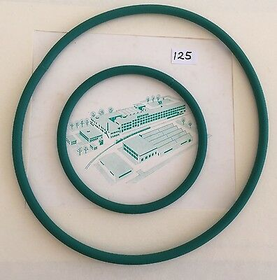 Vintage Bernina 125 Sewing Machine Drive Belts Replacement Pair New Spares Parts