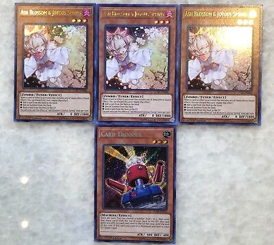 3x Ash Blossom & Joyous Spring Ultra CHANCE LOT 5 card repack*READ DESCRIPTION*