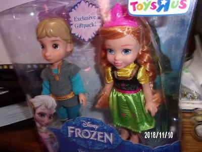 Disney Frozen Exclusive Gift Pack, Young Anna & Kristoff! New! Mint! Sealed!