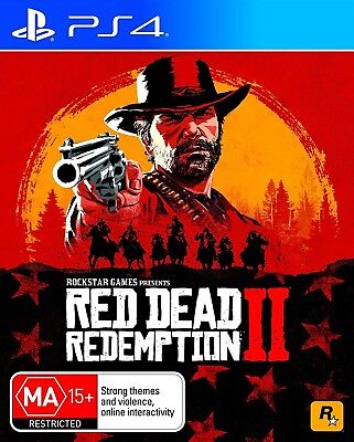 Red Dead Redemption 2 New Ps4 Brand Xbox One Game Sealed 4 Playstation Ii