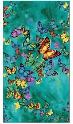 Butterfly Pavilion Quilt Panel * Free Post * Beautiful * 🦋