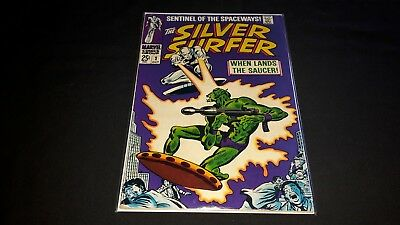 Silver Surfer #2 - Marvel Comics - October 1968 - 1st Print