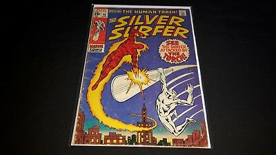 Silver Surfer #15 - Marvel Comics - April 1970 - 1st Print