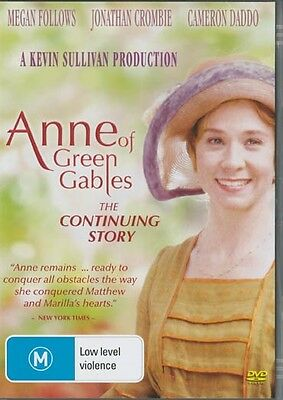 Anne Of Green Gables The Continuing Story - Region 4 Dvd