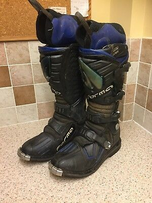 Motorcycle Trail Trials Enduro Forma Size 44 Uk 9.5 Boots