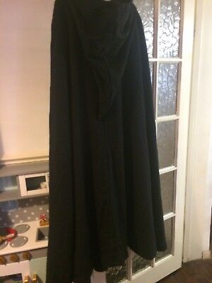 Heavy Woolen cloack with hood great for LARP