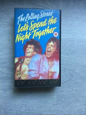 The Rolling Stones-Lets Spend The Night Together music Video