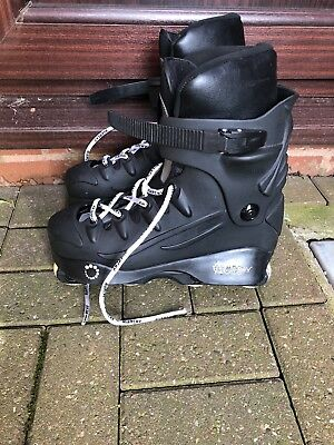 Men's Anarchy Revolution Aggressive Inline Skates Roller Blades UK 9