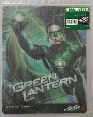 2011 DC GREEN LANTERN Kmart Exclusive LIMITED EDITION PRINT #1 of 4
