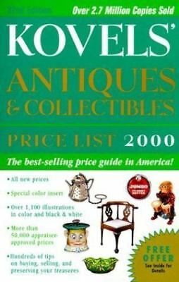 Kovels' Antiques and Collectibles Price List 2000 Vol.1 by Ralph M. Kovel and...