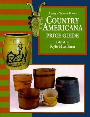 The Antique Trader Books Country Americana Price Guide (1996, Paperback)