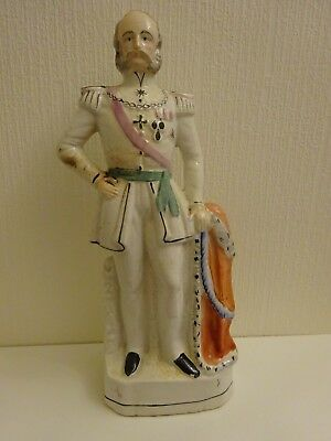 LARGE STAFFORSHIRE FIGURE WILLIAM 1st of PRUSSIA