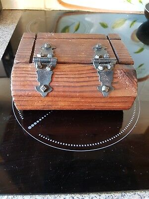 A Nice Wooden Antique/vintage/old Wooden Box