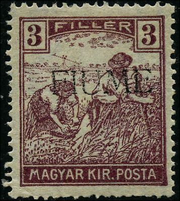 Italy 1918 stamps Fiume MH Sas 5 CV $6.60 181110002